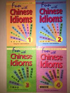 Brand New Fun With Chinese Idioms (Volume 1-4) #Books 📚(42)