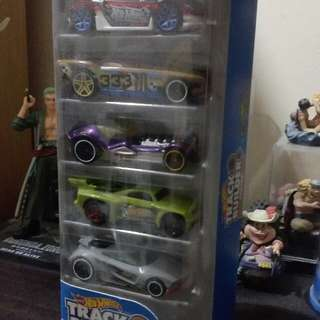 Hotwheels 5 piece pack