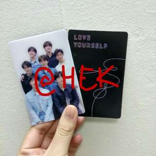 (WTS) BTS LOVE YOURSELF TEARS GROUP PC
