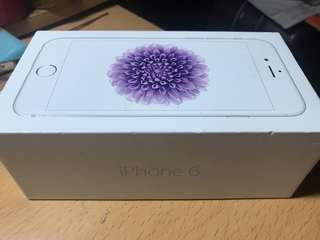 Iphone 6 Silver 64GB 淨盒 (Box only)