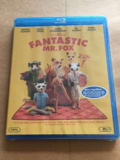 (Brand New) Fantastic Mr Fox Blu Ray