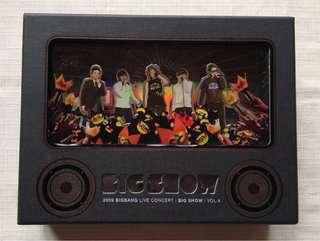 🚚 2009 BIGBANG LIVE CONCERT BIG SHOW 演唱會 DVD