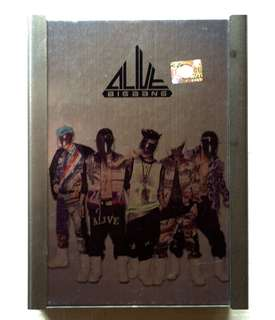 🚚 BIGBANG ALIVE ALBUM 韓版專輯 附海報 送韓雜一本