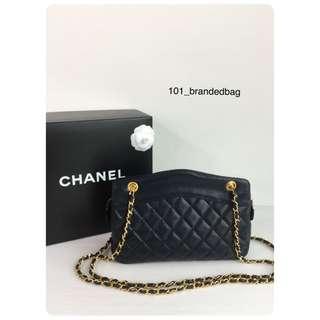 Chanel Vintage Lambskin Shoulder Bag