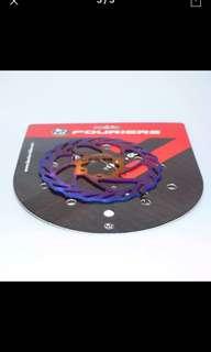 Rich Fourier Titanium Rotor Disc