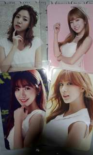 Apink Namjoo and Hayoung official photocards
