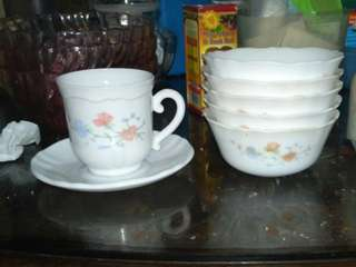 Set of 6pcs cups + 5pcs bowls
