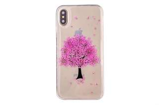 iPhone X Real Flower Case 押花手機套