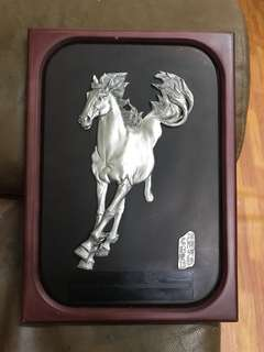 Zubeihong galloping horse pewter