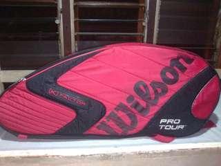 Wilson 3 conpartment tennis bag