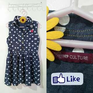 Pulca Dot Dress