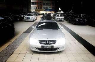 Mercedes Benz AMG SL55