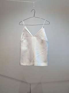 Finders Keepers White Cami Top - Size 8