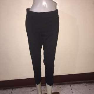 FADED GLORY black tokong/dance/zumba leggings large