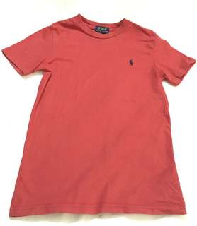 Charity Sale! Authentic Ralph Lauren Polo Boy's Size 7 Red T-shirt