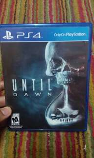 Ps4 Games UNTIL DAWN