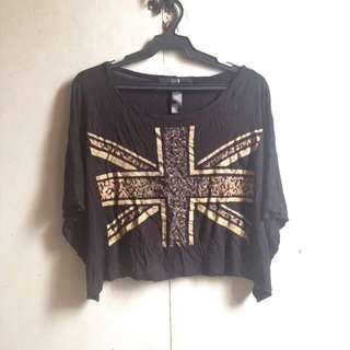 Forever 21 Batwing Top