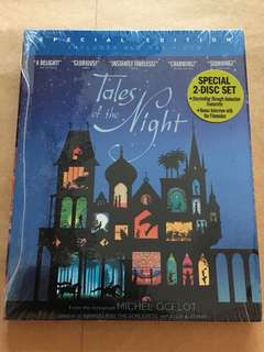 (Brand New) Tales of the Night Blu Ray