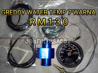 GREDDY WATER TEMP