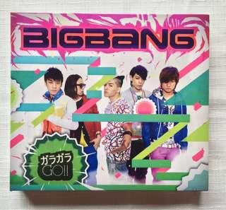 🚚 [三張合售]BIGBANG 台壓日單 GARAGARA GO!! 讓我聽見你的聲音 MY HEAVEN 附海報兩張