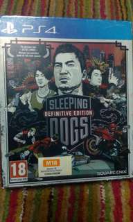Ps4 game SLEEPING DOG BOOK EDITION