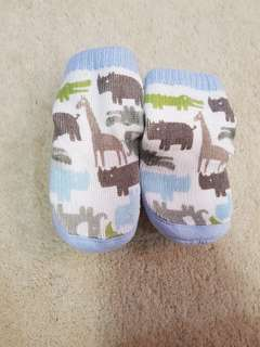 Carters baby sock shoes