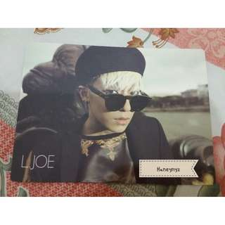 Teen Top L.Joe - No. 1 Official Photocard