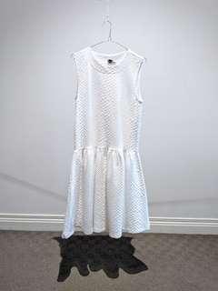 ASOS White Dress - Size S