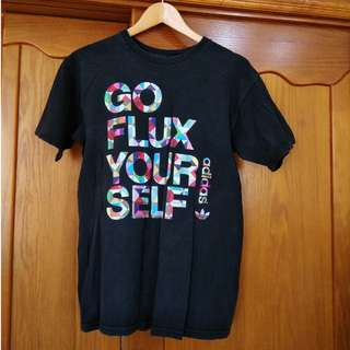Adidas 彩色三葉草 Go Flux Your Self 短tee