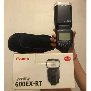 Canon: Speedlite 600 EX-RT ( Very Good Condition )