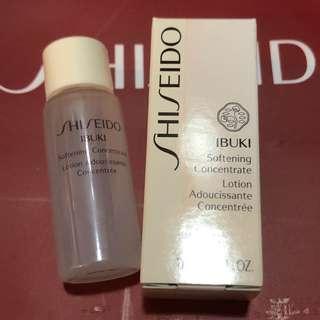 Shiseido ibuki softening concentrate lotion sample