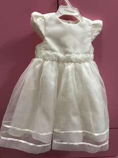 George white dress 9-12mo
