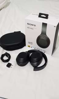 Sony Noise Cancelling Headphones MDR-1000X 1st gen