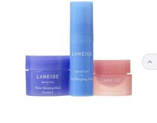Laneige - Good Night Sleeping Care Kit