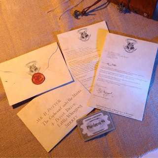 Harry Potter Hogwards Letter
