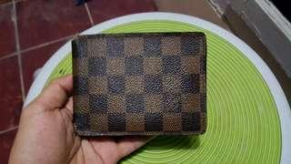 Luis Vuitton Damier Wallet 100% Original