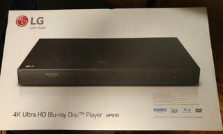 LG 4K Ultra HD Blu-ray Disc Player