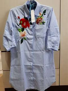 3/4 Sleeve Polo/Dress