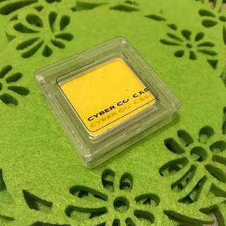 Cyber Colours Eye Shadow Yellow