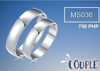 Couple Ring Silver