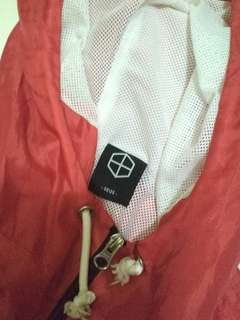 seize jkt jacket red not pmp pull and bear zara man