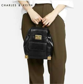 AUTHENTIC CHARLES & KEITH LOYARL BACKPACK