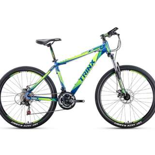 "26"" Aluminum TRINX Mountain Bike / MTB ✩ Shimano 21 Speeds, Disc brakes, front suspension ✩ Brand new bicycles"