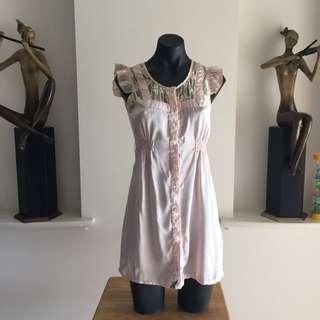 (XS) VALLEY GIRLSOFT PINK DRESS