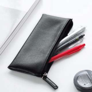 Soft PU Leather Pencil Case