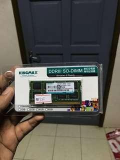Ram4GB kingmax 1333mhz