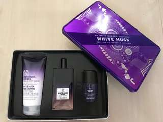 Body Shop Men's White Musk set