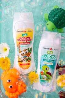 Kids natural shampoo and body wash