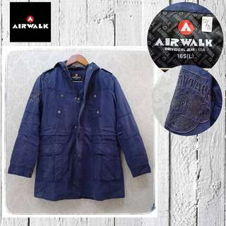 Airwalk navy jacket
