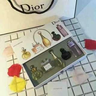 Dior Perfume or Chanel gift set